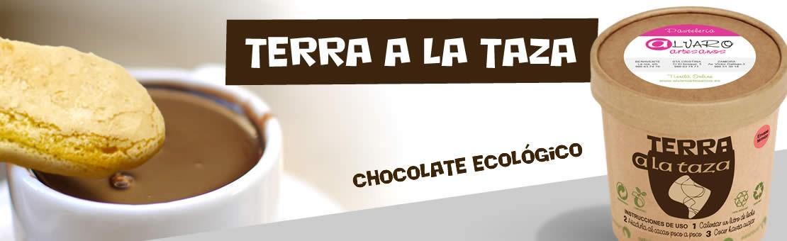 Cacao a la taza en polvo. Ecológico y de comercio justo, Envase reciclable,